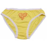 Трусы для девочек Valeri-tex 1500-55-126-010-1 Желтый