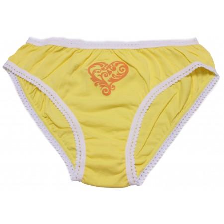 Трусы для девочек Valeri-tex 1500-55-126-010-2 Желтый