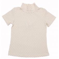 Блузка для девочек Valeri-tex 1507-99-140-027-4 Бежевый