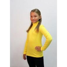 Гольф для девочек Valeri-tex 1531-99-405-031 Лимонный