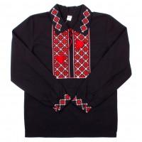 Рубашка для мальчиков Valeri-tex 1535-20-311-001 Черный