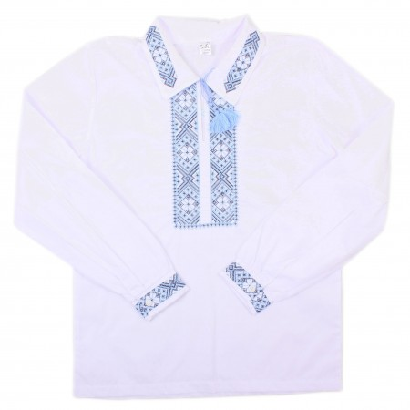 Рубашка для мальчиков Valeri-tex 1535-20-311-002-008 Белый