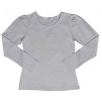 Блузка для девочек Valeri-tex 1541-20-142-1 Серый