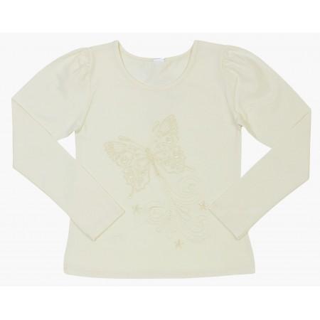Блузка для девочек Valeri-tex 1541-20-142 Молочный