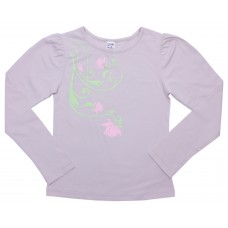 Блузка для девочек Valeri-tex 1541-55-242-003 Серый