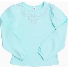 Блузка для девочек Valeri-tex 1542-55-042-020 Бирюзовый