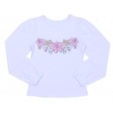 Блузка для девочек Valeri-tex 1542-55-242-002 Белый