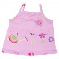 Майка для девочек Valeri-tex 1560-75-026-2 Розовый