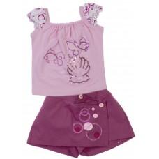 Комплект для девочек Valeri-tex 1595-20-813-1 Сиреневый