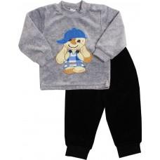 Комплект детский Valeri-tex 1613-20-365-030 Серый меланж
