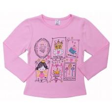 Джемпер для девочек Valeri-tex 1622-55-090-006-1 Розовый
