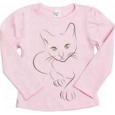 Джемпер для девочек Valeri-tex 1622-55-090-006 Розовый