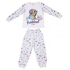 Пижама Valeri-tex 1626-55-251-027-024 Молочный