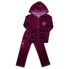 Комплект для девочек Valeri-tex 1631-20-365 Бордо