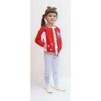 Толстовка детская Valeri-tex 1633-75-055 Красный