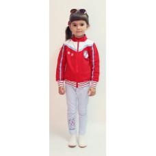 Толстовка детская Valeri-tex 1634-20-055-2 Красный