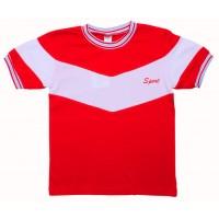Футболка для мальчиков Valeri-tex 1647-20-126-2 Красный
