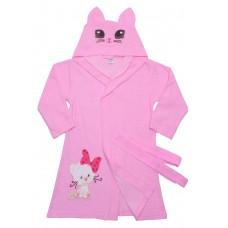 Халат для девочек Valeri-tex 1651-20-081-006 Розовый