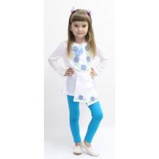 Блузка для девочек Valeri-tex 1658-20-311-002 Белый