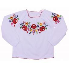 Блузка для девочек Valeri-tex 1660-20-311-002-4 Белый