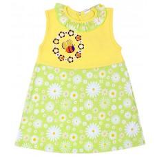 Платье Valeri-tex 1666-55-126-2 Желтый