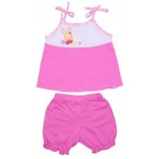 Комплект для девочек Valeri-tex 1669-55-126-1 Розовый