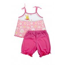 Комплект для девочек Valeri-tex 1669-55-126 Розовый