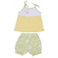 Комплект для девочек Valeri-tex 1669-55-127-1 Желтый