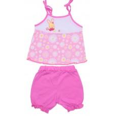 Комплект для девочек Valeri-tex 1669-55-127-2 Розовый