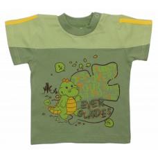 Футболка детская Valeri-tex 1676-75-126-3 Зеленый