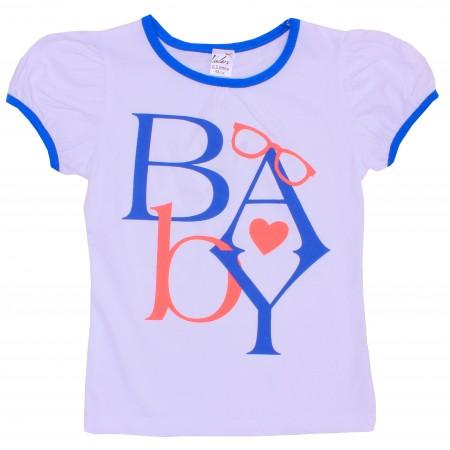 Блузка для девочек Valeri-tex 1683-55-042-002 Белый