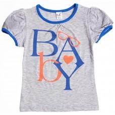 Блузка для девочек Valeri-tex 1683-55-042-003 Серый