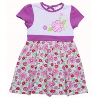 Платье для девочек Valeri-tex 1688-55-242-6 Белый