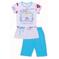 Комплект для девочек Valeri-tex 1690-55-042-1 Голубой