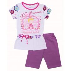 Комплект для девочек Valeri-tex 1690-55-042-2 Фиолетовый