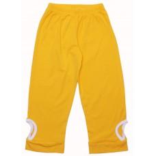 Бриджи для девочек Valeri-tex 1692-99-242 Желтый