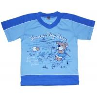 Футболка для мальчиков Valeri-tex 1695-75-126-4 Голубой