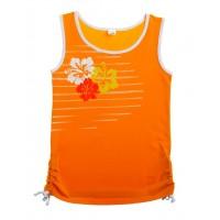 Майка для девочек Valeri-tex 1700-55-242 Оранжевый