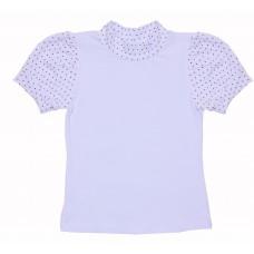 Блузка для девочек Valeri-tex 1711-55-049-002 Белый