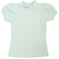 Блузка для девочек Valeri-tex 1711-99-240-027-1 Ментол