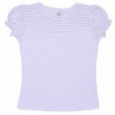Блузка для девочек Valeri-tex 1712-55-049-002 Белый