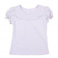Блузка для девочек Valeri-tex 1712-99-042-003 Серый