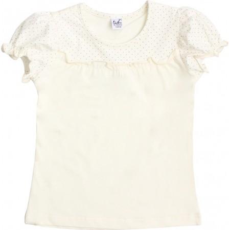Блузка для девочек Valeri-tex 1712-99-042-024 Молочный