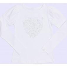 Блузка для девочек Valeri-tex 1714-55-042-002 Белый