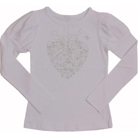 Блузка для девочек Valeri-tex 1714-55-042-003-1 Серый