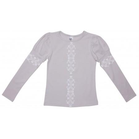 Блузка для девочек Valeri-tex 1714-55-042-003 Серый