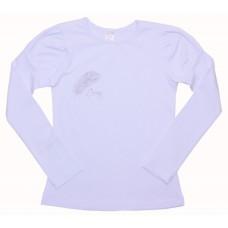 Блузка для девочек Valeri-tex 1714-55-049-002 Белый