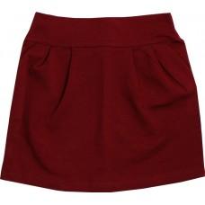 Юбка для девочек Valeri-tex 1724-99-355-016 Бордовый