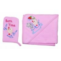 Комплект банный Valeri-tex 1742-20-181-006 Розовый