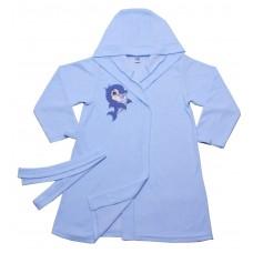 Халат для девочек Valeri-tex 1751-20-081-008 Голубой